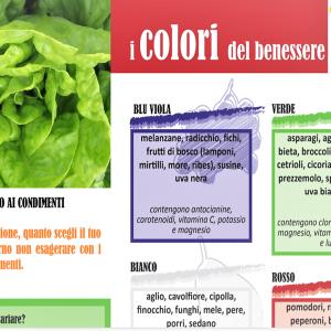 avocado e i colori del benessere: opuscolo Ministero Salute