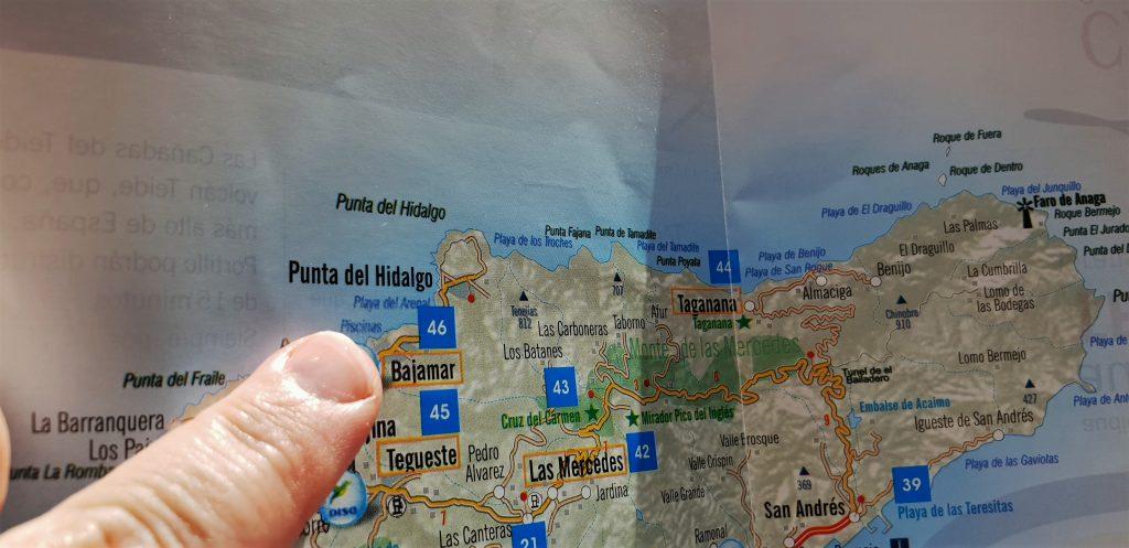 Canarie Tenerife: sul capo della papera si legge